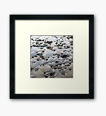 Beach Rocks 10 Framed Print