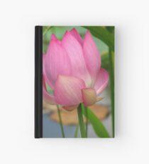 Pink Lotus Hardcover Journal