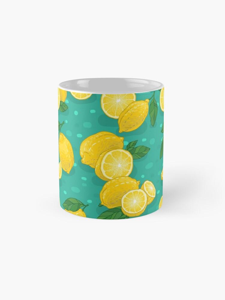 Alternate view of Lemons Mugs