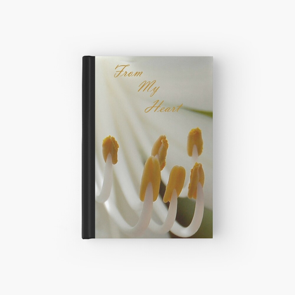 From My Heart Hardcover Journal