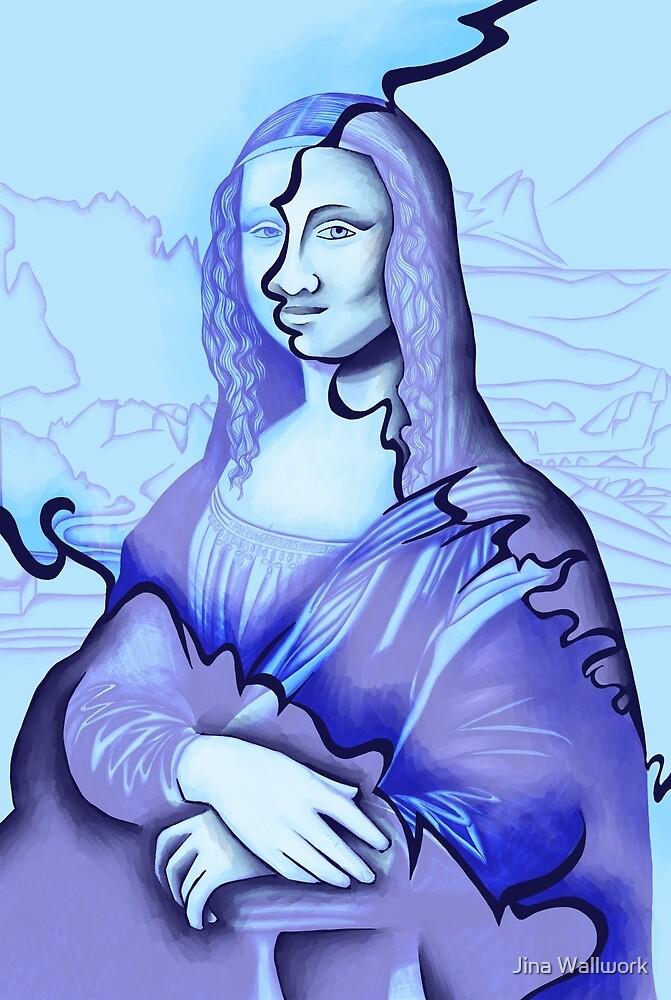 Mona Lisa 23 by Jina Wallwork