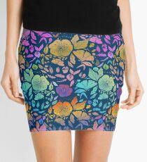 California Blossoms Mini Skirt