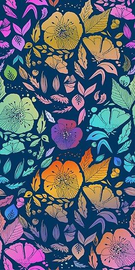 California Blossoms von Anny Cecilia  Walter