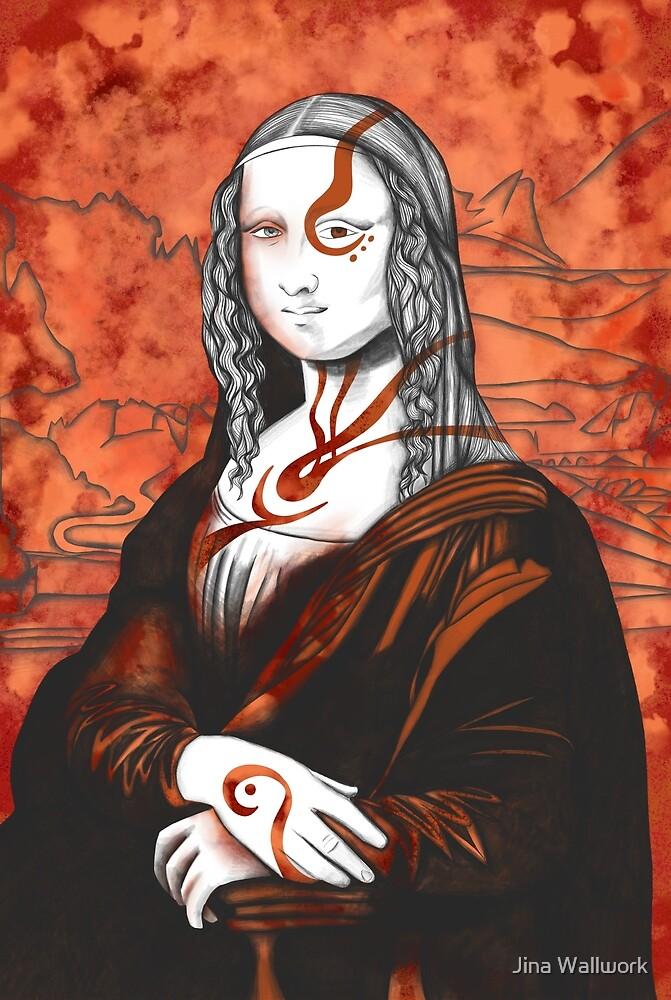 Mona Lisa 28 by Jina Wallwork