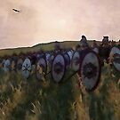Medieval Army in Battle by Andrea Mazzocchetti
