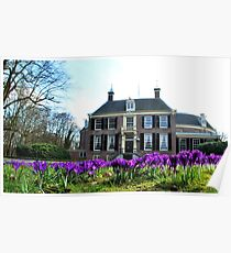 It is spring at Groeneveld! Poster