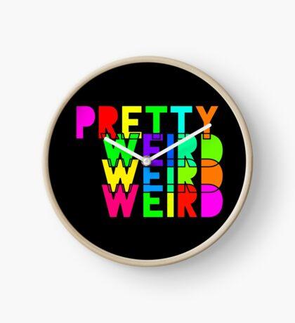 Pretty Weird Clock