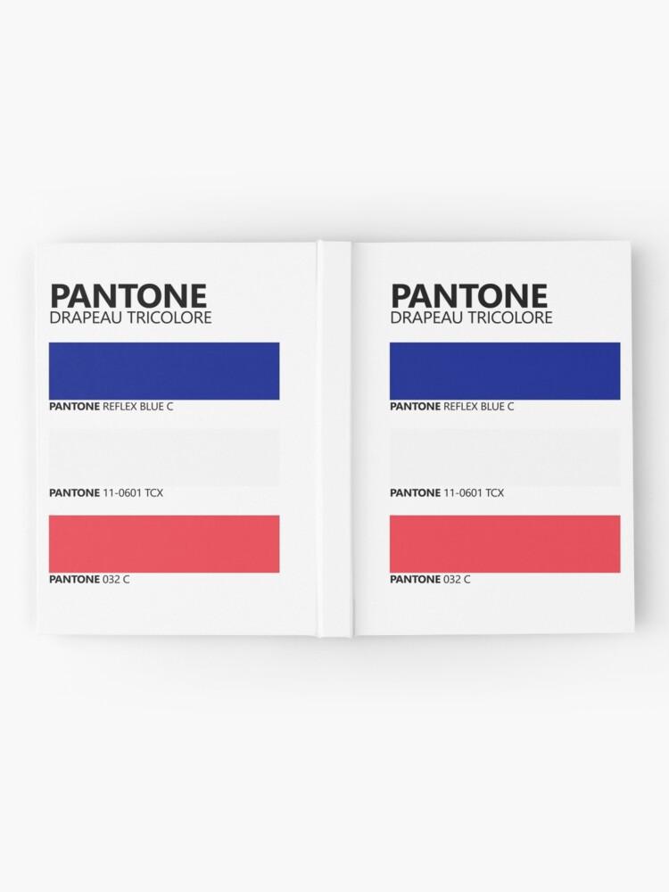 Vista alternativa de Cuaderno de tapa dura Pantone Drapeau Tricolore Paleta de colores de bandera francesa