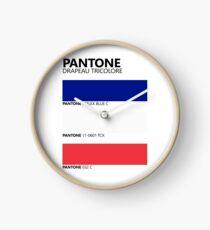 Reloj Pantone Drapeau Tricolore Paleta de colores de bandera francesa