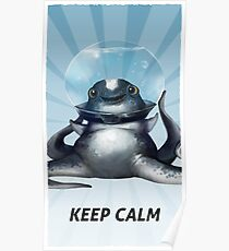 Póster Subnautica - Keep Calm Cuddlefish Portrait