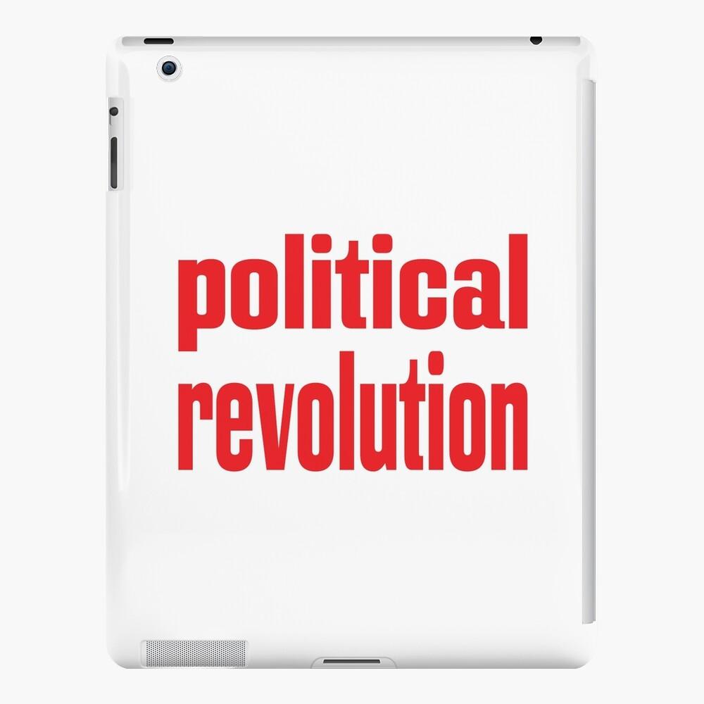 Revolución política Funda y vinilo para iPad