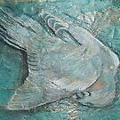 Blue pigeon by samthestitcher