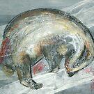 Badger by samthestitcher