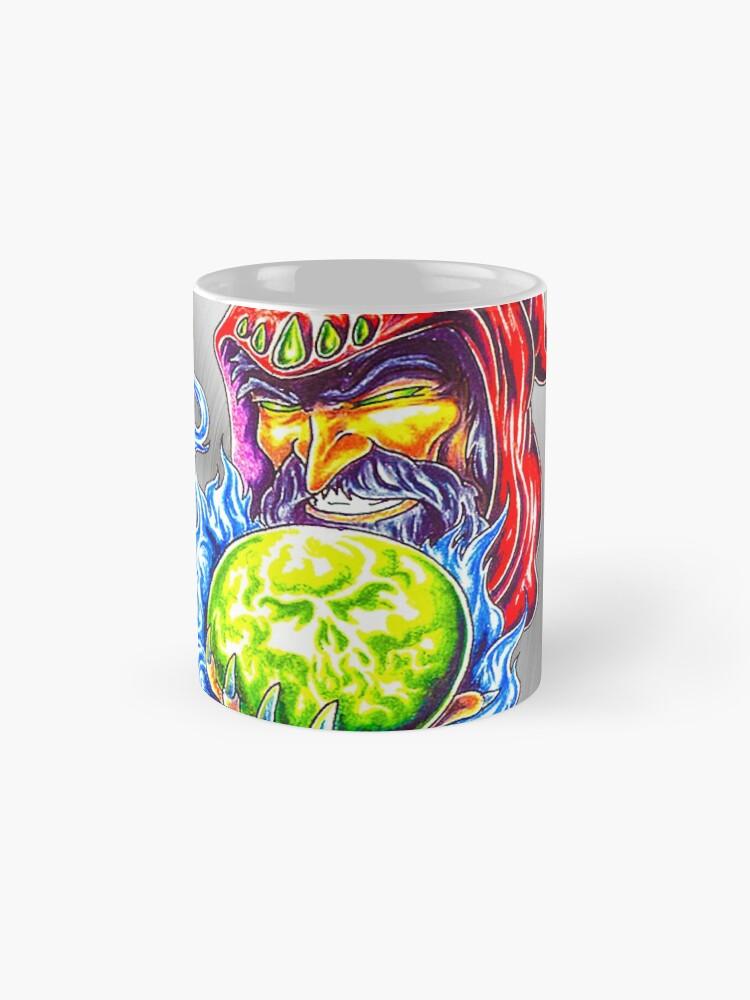 Alternative Ansicht von fcw 0063 tatoo magischer zauberer Tassen