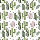 Cactus flower pattern by miarsmoller