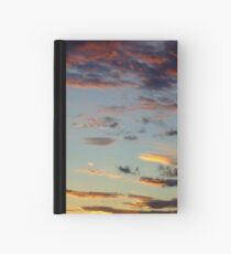 Moody clouds Hardcover Journal