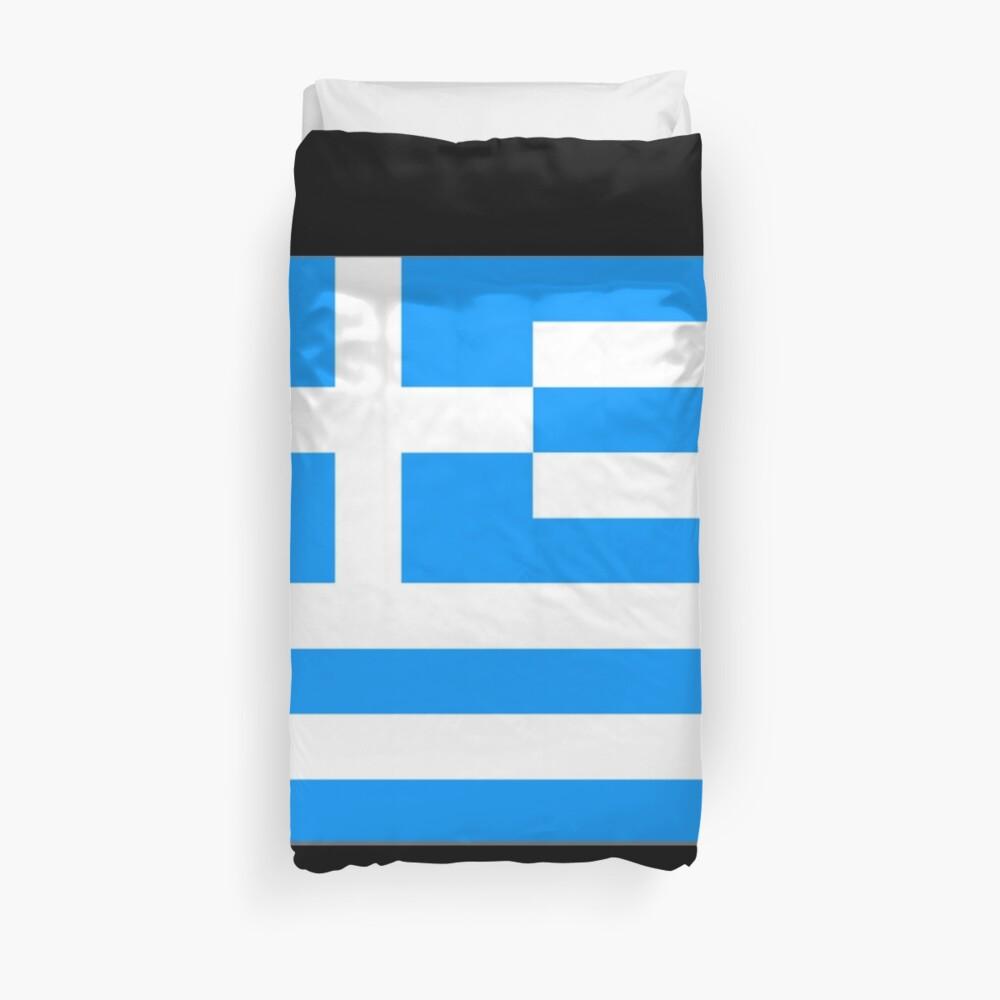 Greece Flag - Greek Flag Funda nórdica