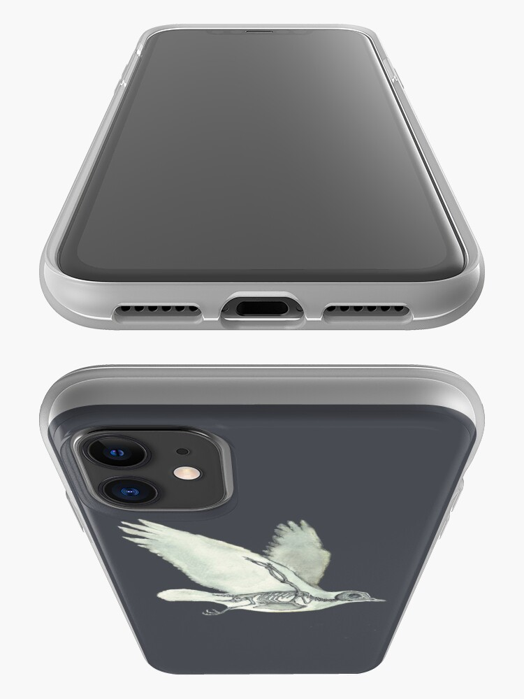 Alternate view of Bird Skeleton: Animal Dove Anatomy iPhone Case & Cover