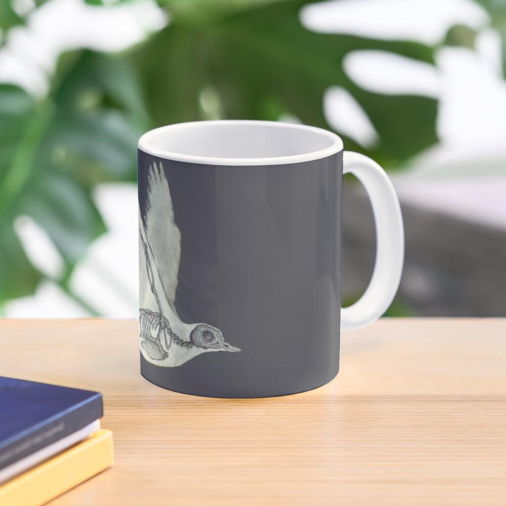 Bird Skeleton: Animal Dove Anatomy Mug