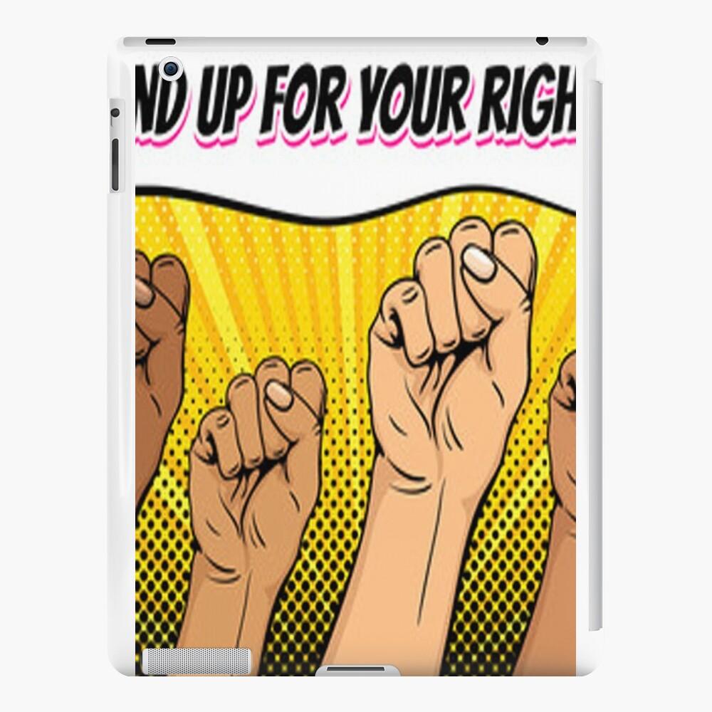 Kämpft für eure Rechte! iPad-Hüllen & Klebefolien