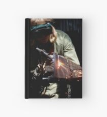 Ben welding by Charlie Hardcover Journal