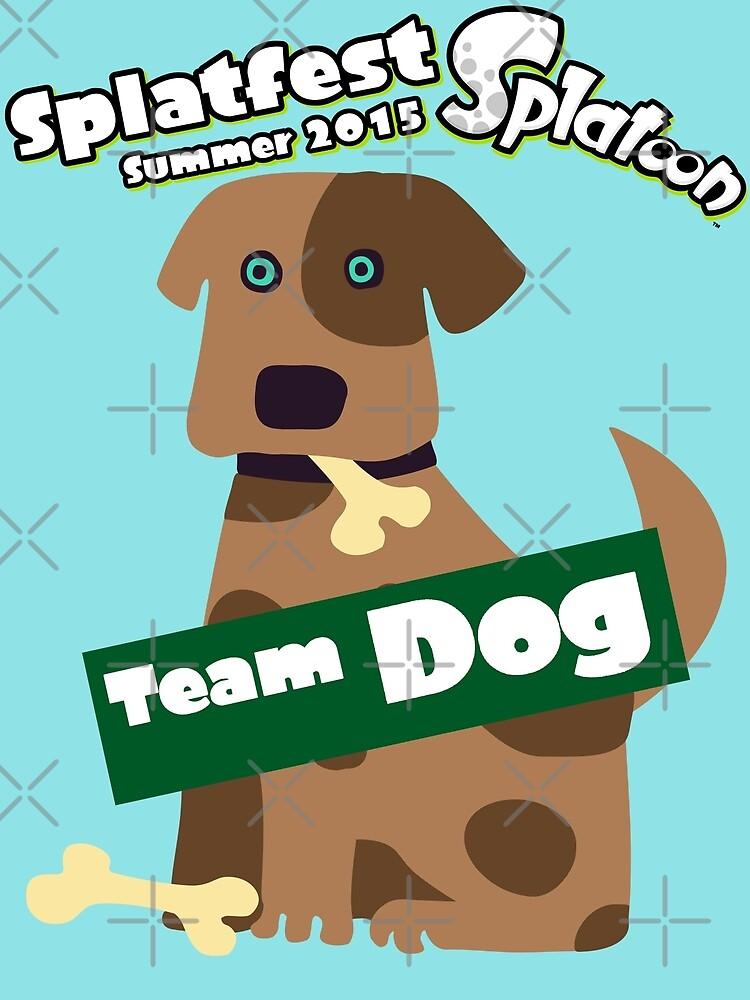 Splatfest Team Dog v.1 by KumoriDragon