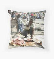 Meat Kinshasa Congo Throw Pillow