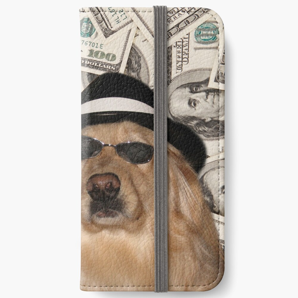 Rich Dog, Doggo #3 iPhone Wallet