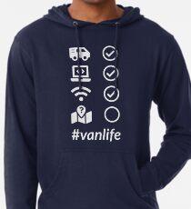 VanLife Checkliste 2 Leichter Hoodie