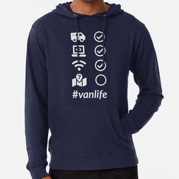 Vanlife Checklist 2 Lightweight Hoodie