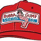 Forrest Gump - Bubba Gump Shrimp Co. Hat by Shayli Kipnis