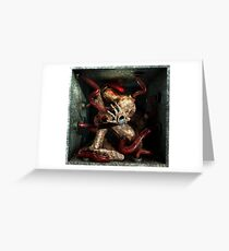 Ecce Homo 89 - INFECTION Greeting Card