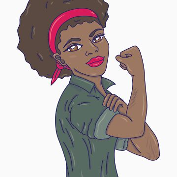strong woman arm portrait by rkhy