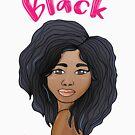 black beauty portrait by rkhy