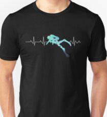 Scuba Diving Heart Beat - Best Gift for Diver Unisex T-Shirt