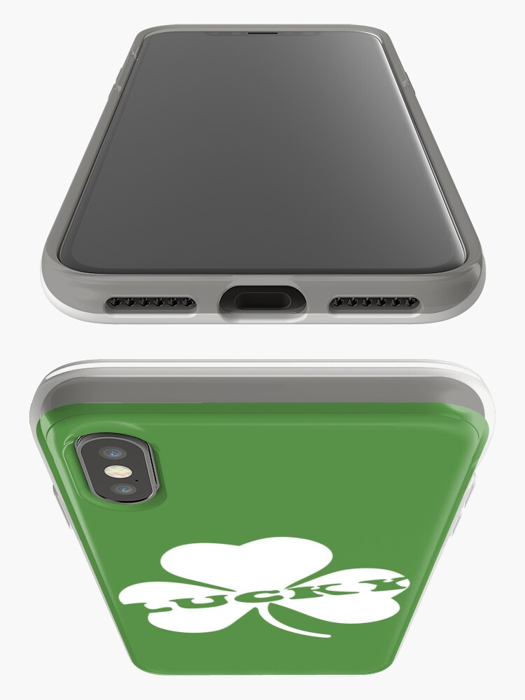 Alternate view of Lucky Shamrock iPhone Case & Cover