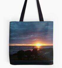 SunSet on the Sea Tote Bag