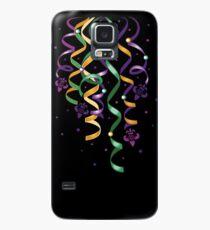 Karneval Luftschlangen Mardi Gras Fleur De Lis  Hülle & Skin für Samsung Galaxy
