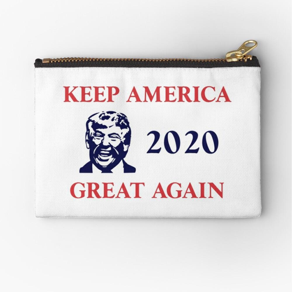 Trump 2020 Keep America Great Again. Gifts Zipper Pouch
