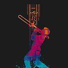 I love Music - Trombone by leandrojsj