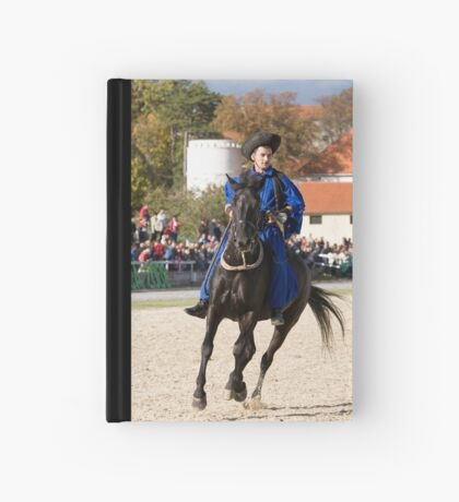 Hungarian rider at Lipica open day, Slovenia Hardcover Journal