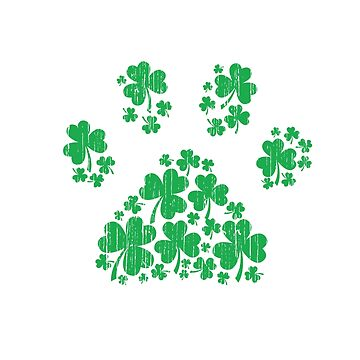One Lucky Dog Mama - St Patrick Day Paw Dog Mom Gifts by EcoKeeps