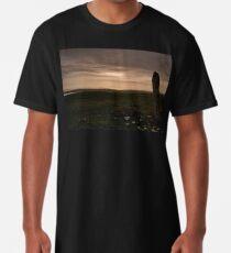 Berneray: Clach Mhor Standing Stone Long T-Shirt