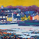 Kinvara Bay (Galway, Ireland) by eolai