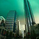 An evening drive through downtown Vancouver by John Gaffen