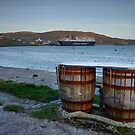 Castlebay Harbour, Isle of Barra, Outer Hebrides. by AlbaPhotography
