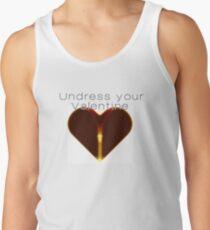Undress your Valentine Tanktop für Männer