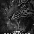 Tiger Mindset Beast Mode Motivational Photo by SuccessHunters