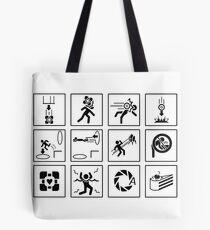 Portal Signs Tote Bag