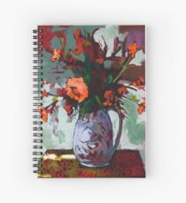 Marigolds Gone Wild Spiral Notebook